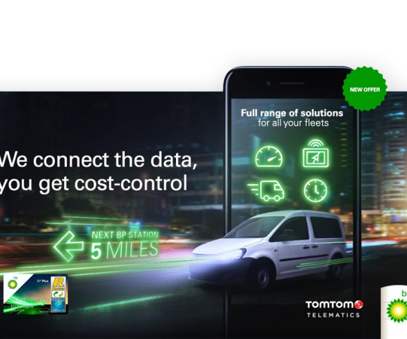 BP teams up with TomTom Telematics for fuel-saving fleet solution