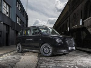 Plug-in taxis like the LEVC taxi shown, will now be eligible for a £7,500 grant
