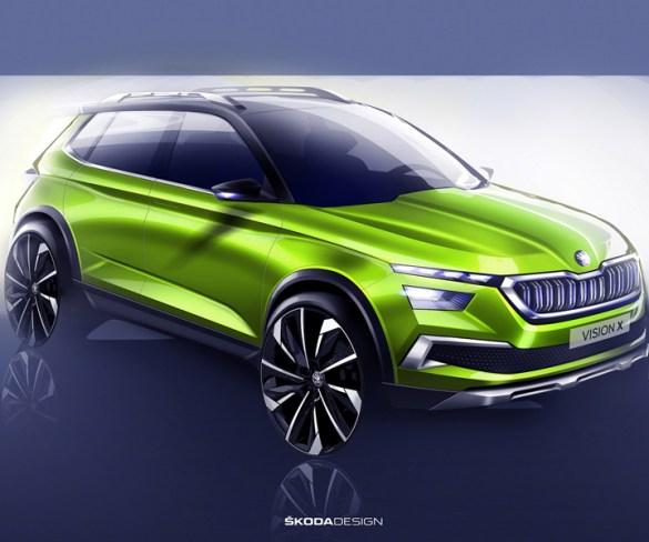 Skoda previews hybrid small SUV with Geneva concept