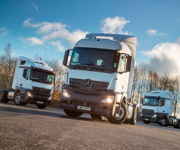 Three new unmarked HGVs to tackle distracted drivers