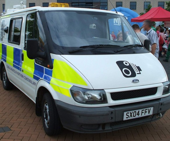 Mobile speed cameras catching phone users and seatbelt offenders
