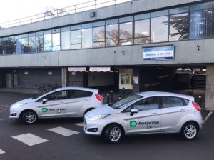Five dedicated Enterprise Car Club Ford Fiestas are now based at Shirehall in Shrewsbury.