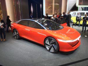 Volkswagen's I.D. Vizzion luxury saloon concept