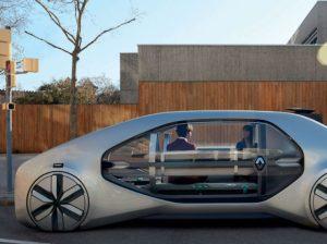 The Renault EZ-GO concept provides Level 4 autonomous operation.