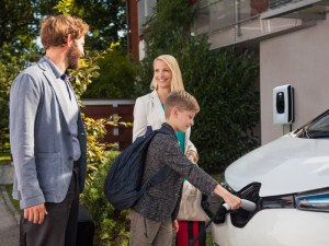 OVO's VCharge V2G charger offers EV drivers the chance to sell energy back to the grid