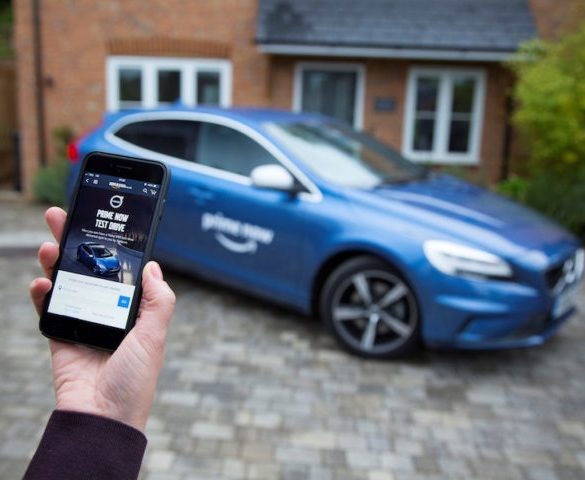 Volvo to offer workplace 'Prime Now test drives' with Amazon