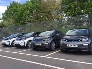 Hampshire Constabulary BMW i3 Fleet