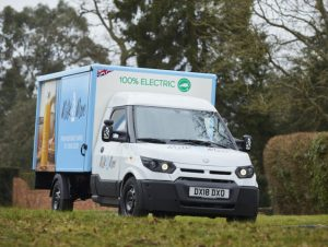 Milk & More is the first UK company to deploy the StreetScooter electric vans