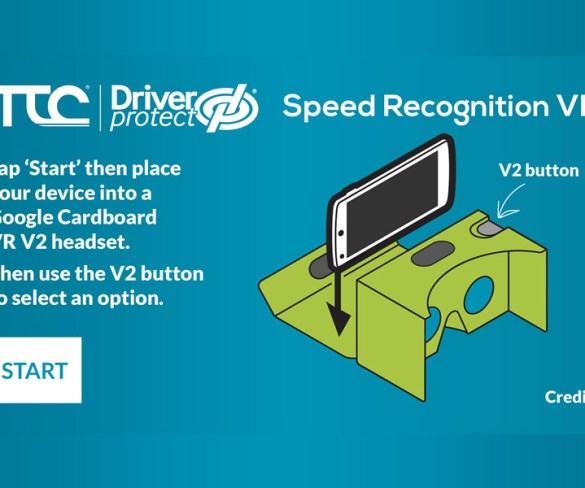 Virtual reality adds extra dimension for driver training app