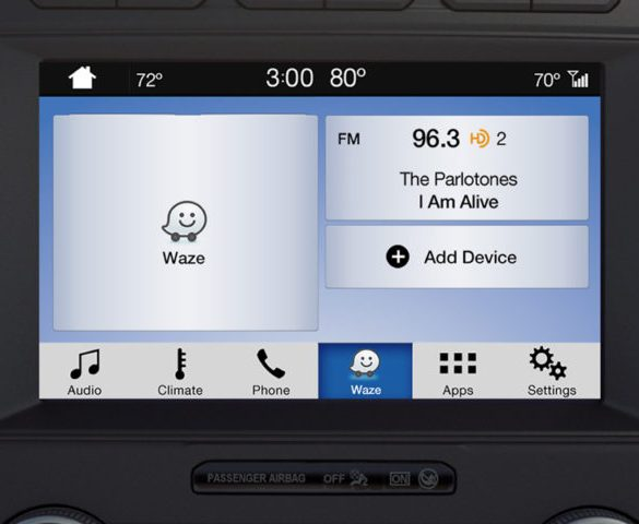 Ford adds Waze navigation and voice control