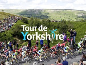 A fleet of vehicles, including the BMW i8, will keep the Tour de Yorkshire on the road
