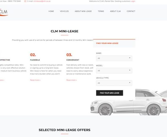 CLM launches dedicated Mini-lease website