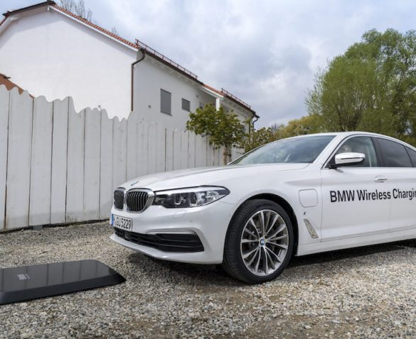 BMW launches wireless EV charging