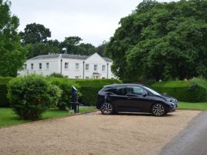 Wavendon House has been fitted out with a Chargemaster charge point
