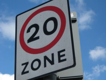 The 20mph zone would encompass the Congestion Charge Zone