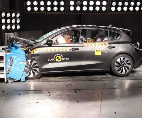 Ford Focus and Volvo XC40 score five-star Euro NCAP ratings