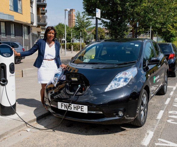 Electric car club launches in Greenwich