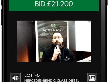 The virtual auction enables Aston Barclay to sell vehicles from any location