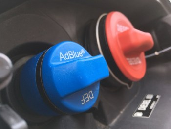 AdBlue cap