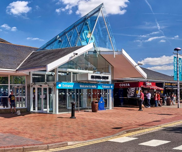 92% of visitors happy at motorway services