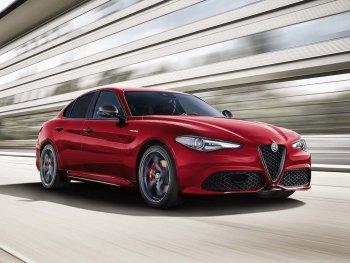 The new Alfa Romeo Giulia Veloce Ti trim