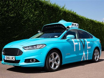 Five human-driven cars will gather data on London roads ahead of driverless cars being deployed