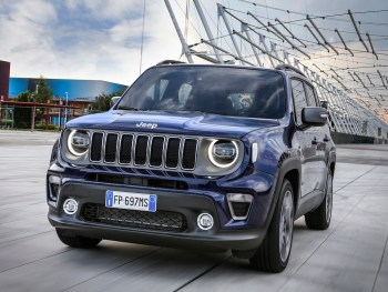 The facelifted Jeep Renegade