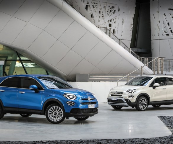 Fiat 500X goes petrol-only