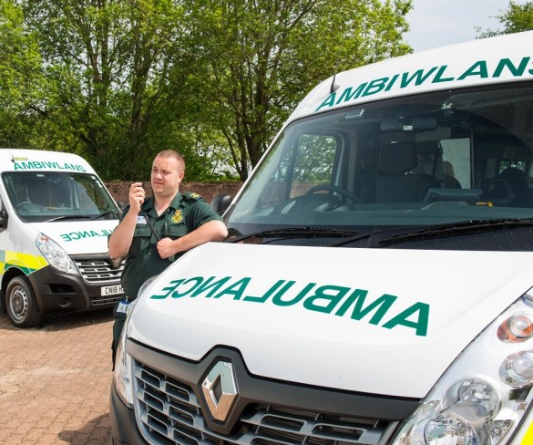 Renault Master to keep Welsh outpatients mobile