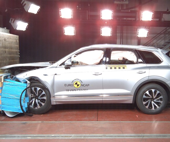 A6 and Touareg score five-star Euro NCAP ratings