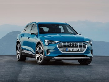 The Audi E-Tron marks the brand's first ever fully electric series production model