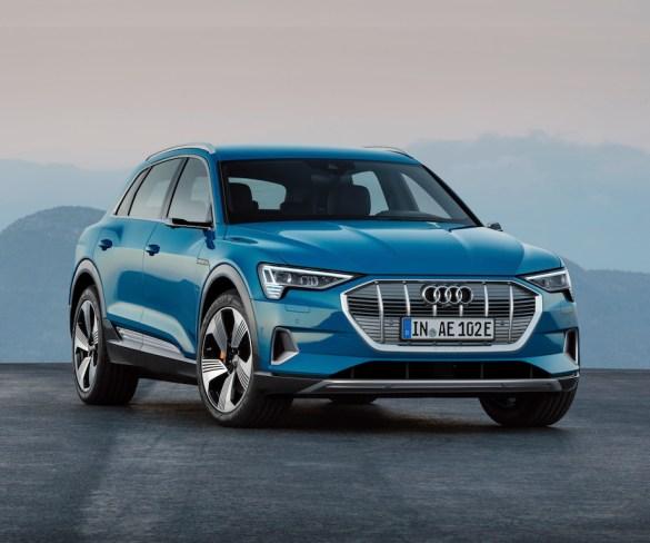 Audi embarks on EV offensive as E-Tron premieres
