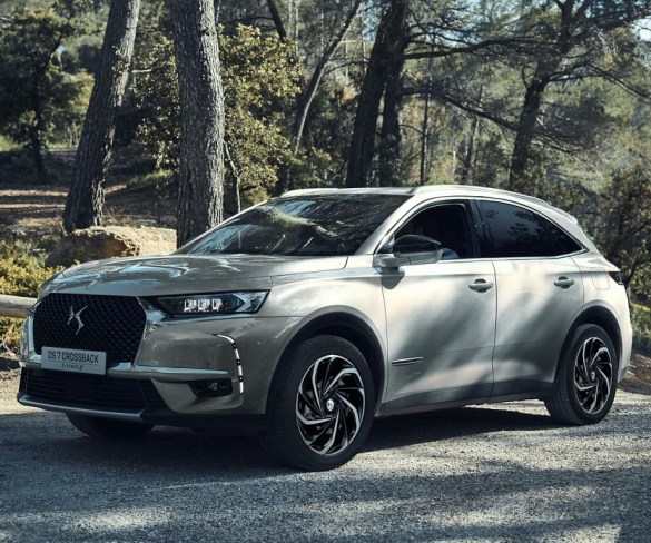 DS 7 Crossback PHEV targets sub-50g/km CO2