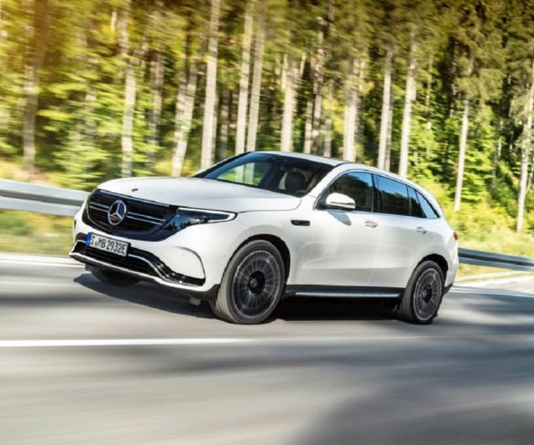 Mercedes-Benz electric SUV sets sights on the I-Pace