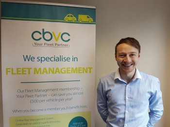 Elliot Southerton, fleet manager at CBVC