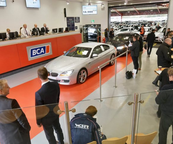 BCA showcases expanded Nottingham facilities with BMW sale
