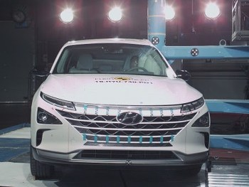 The fuel cell powered Hyundai Nexo is one of the latest vehicles to receive a five-star Euro NCAP rating