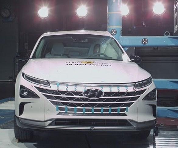 Five stars for Hyundai Nexo in latest Euro NCAP testing