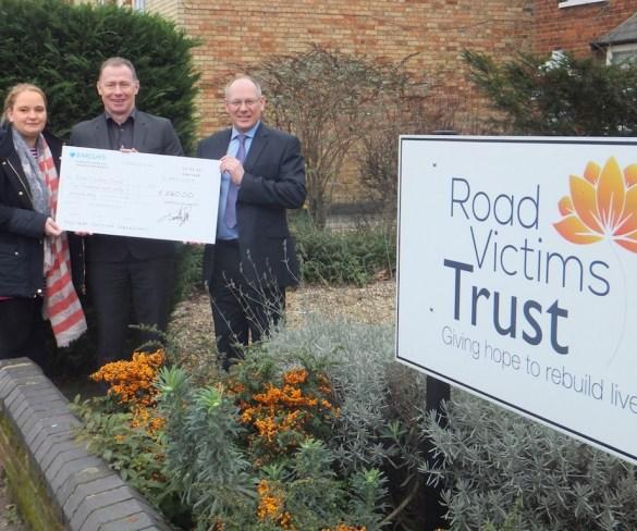 DriveTech names Road Victims Trust as 2019 chosen charity