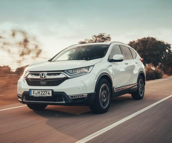 First Drive: Honda CR-V Hybrid
