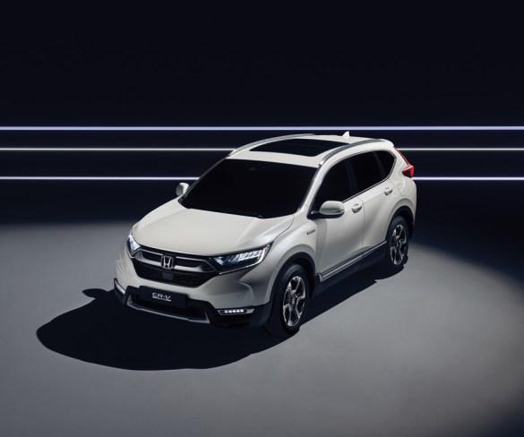 Honda releases residual values for new CR-V Hybrid