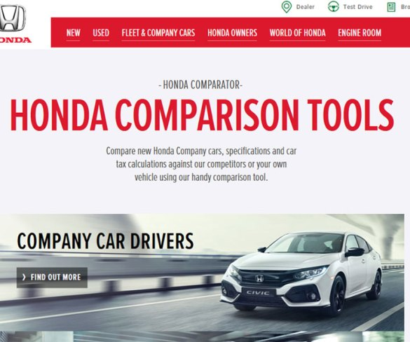 Honda launches interactive whole lifecycle costs calculator