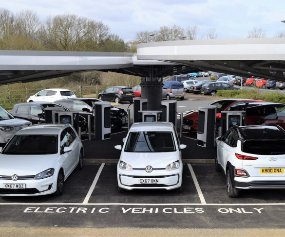 Public rapid charging hub gets off to flying start in Milton Keynes