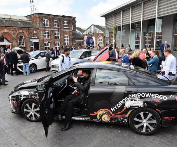 Fleet interest in hydrogen cars underscored at Arval event