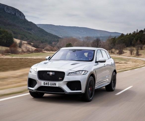 First Drive: Jaguar F-Pace SVR