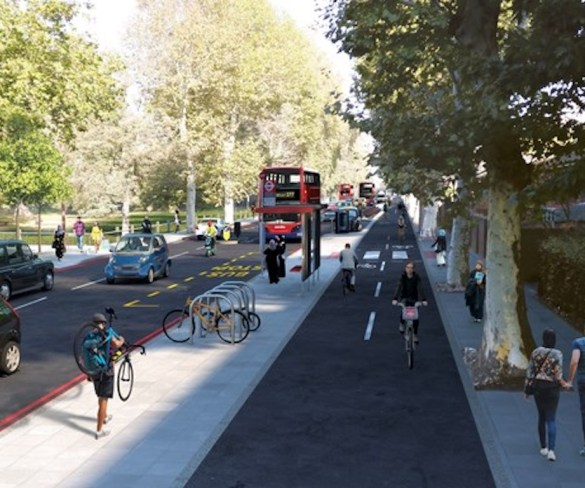 Proposed Cycleway to bring major boost to London's walking and cycling network