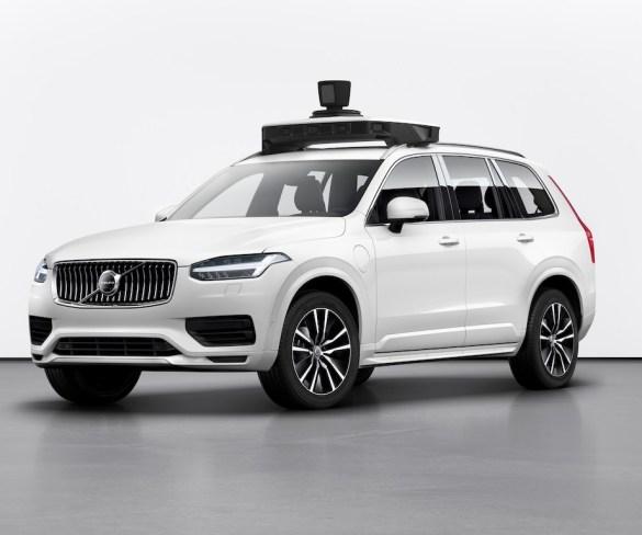 Volvo unveils production-ready autonomous XC90 for Uber