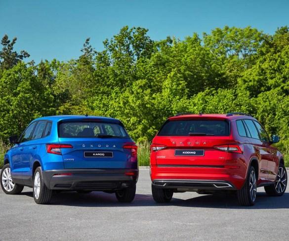 Karoq and Kodiaq treated to updates and Škoda's new-look