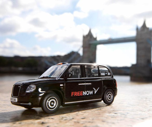 Free Now celebrates rebrand with Taxi Hunt
