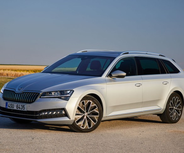First drive: Škoda Superb